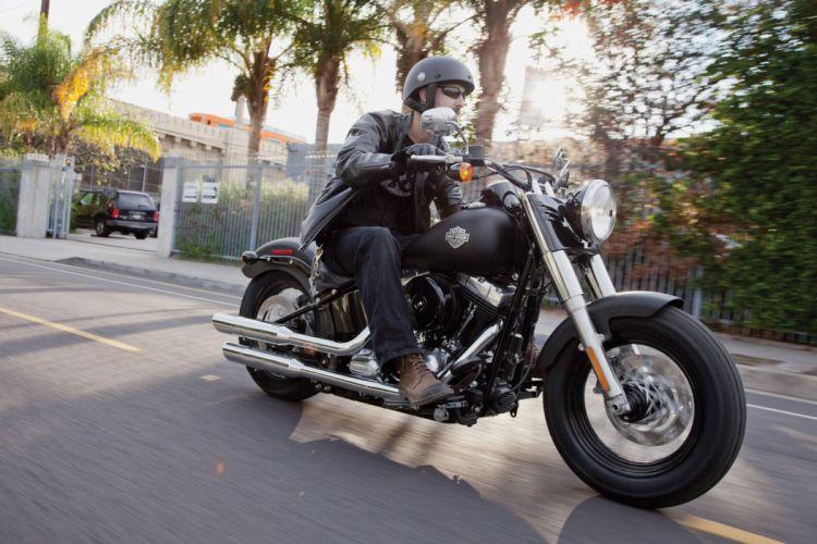 2012 Harley Davidson FLS Slim q wallpaper