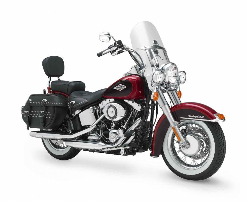 2012 Harley Davidson FLSTC Heritage Softail Classic  f wallpaper