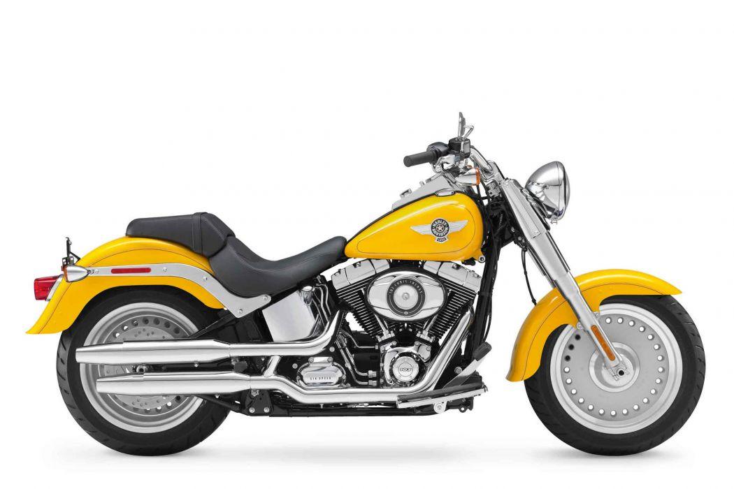 2012 Harley Davidson FLSTF Softail Fat Boy   g wallpaper
