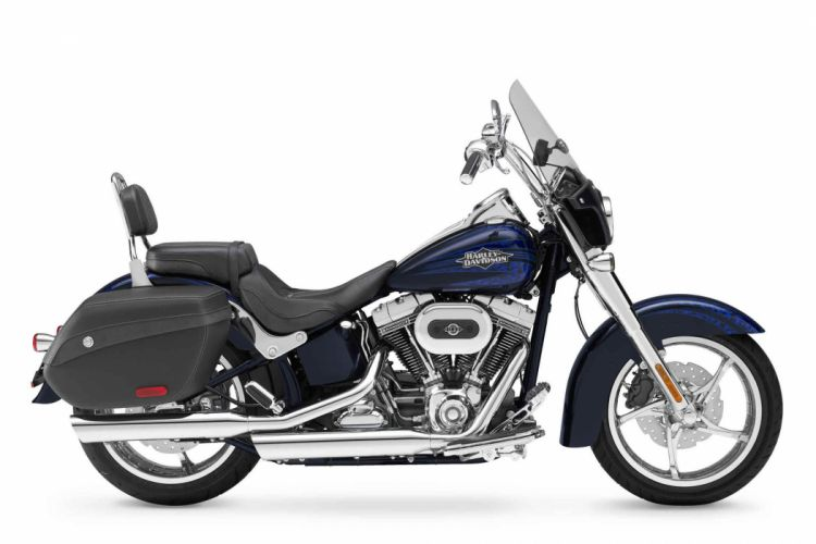 2012 Harley Davidson FLSTSE3 CVO Softail Convertible d wallpaper