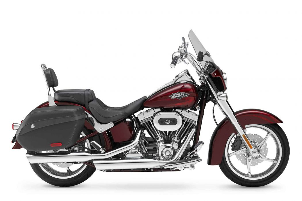2012 Harley Davidson FLSTSE3 CVO Softail Convertible  c wallpaper