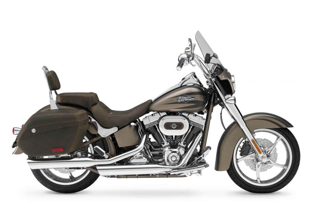 2012 Harley Davidson FLSTSE3 CVO Softail Convertible wallpaper