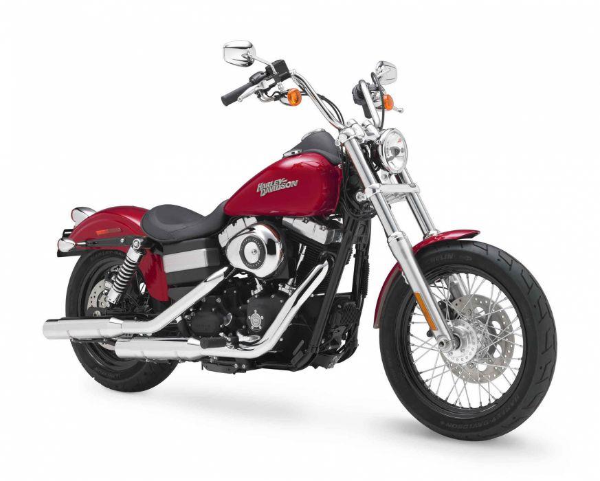 2012 Harley Davidson FXDB Dyna Street Bob   g wallpaper
