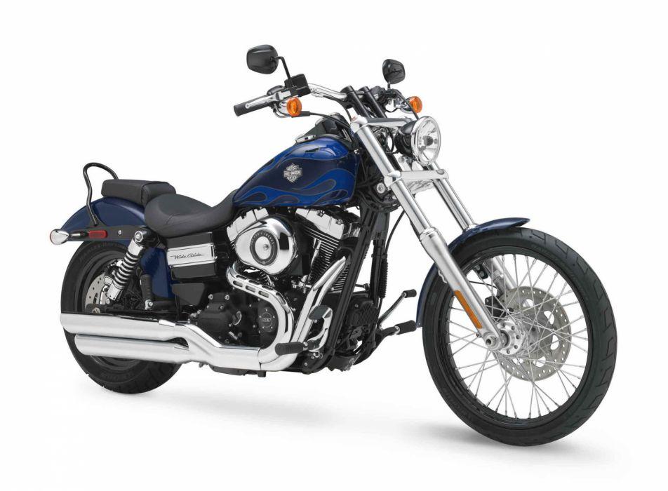2012 Harley Davidson FXDWG Dyna Wide Glide   f wallpaper