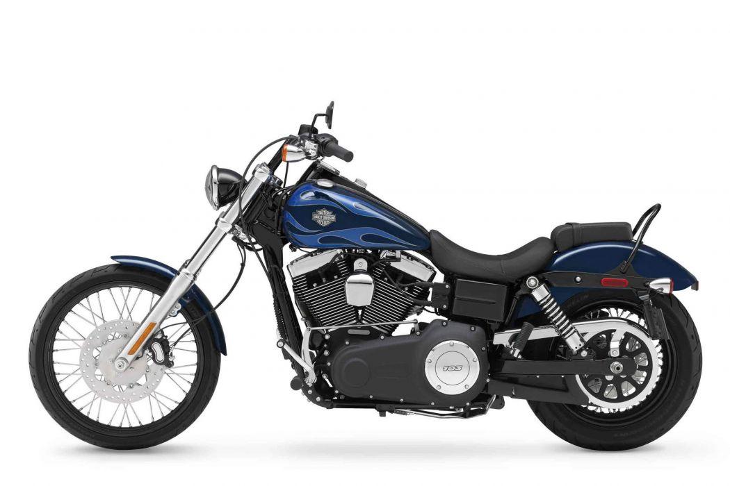2012 Harley Davidson FXDWG Dyna Wide Glide wallpaper