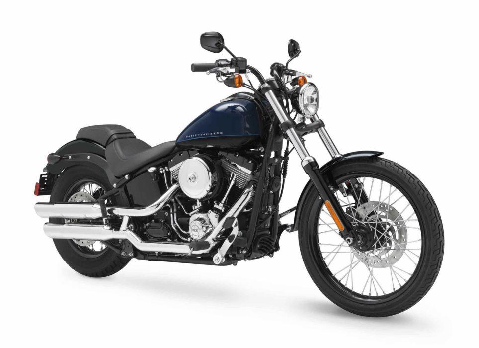 2012 Harley Davidson FXS Softail Blackline  f wallpaper