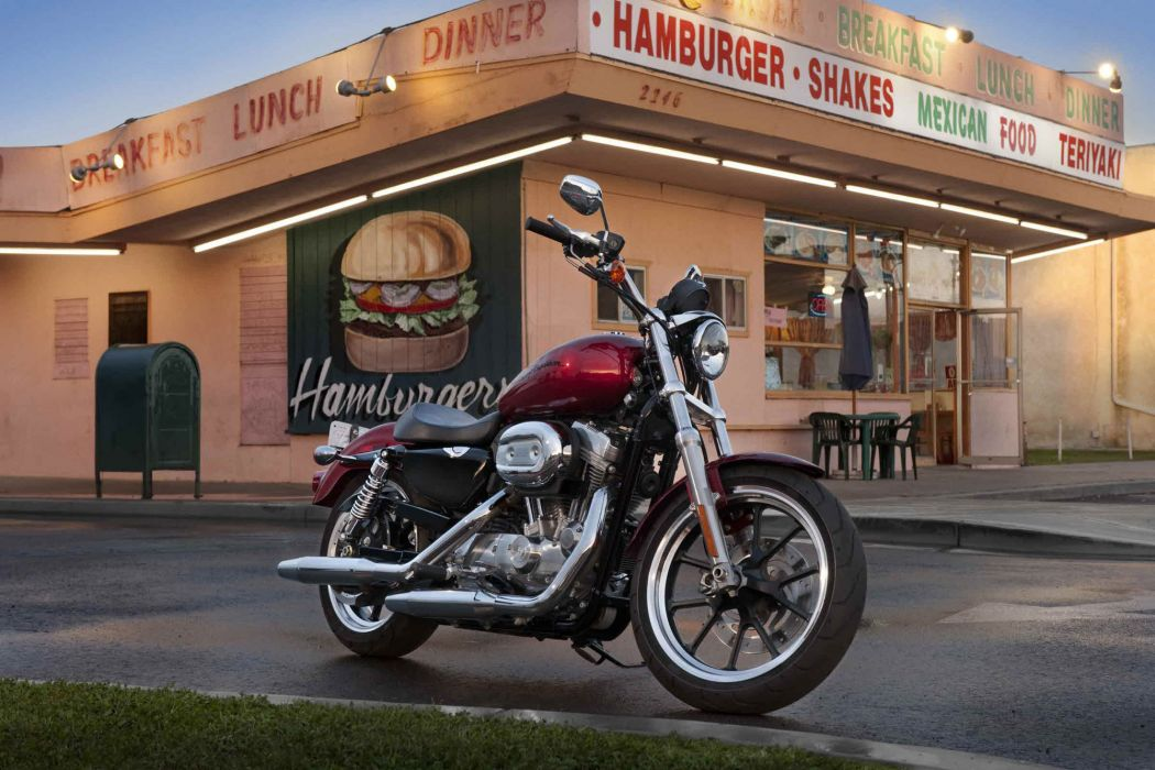2012 Harley Davidson XL883L Sportster 883 SuperLow wallpaper