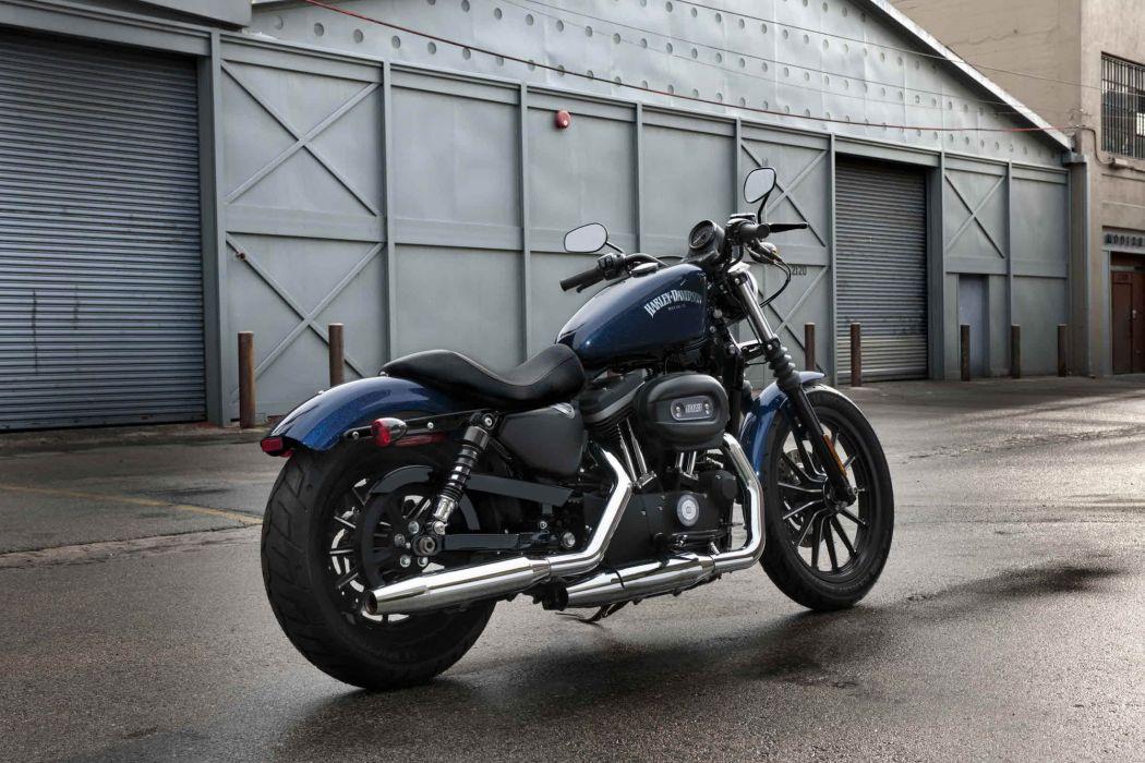 2012 Harley Davidson XL883N Iron 883 Wallpaper