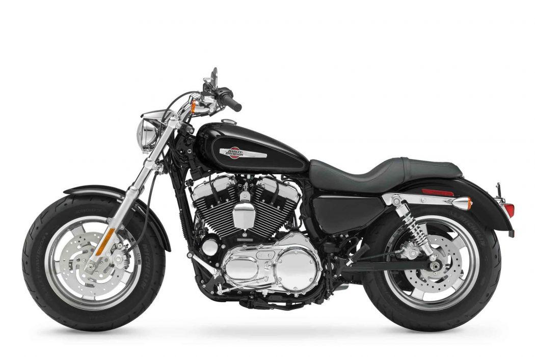 2012 Harley Davidson XL1200C Sportster 1200 Custom    b wallpaper