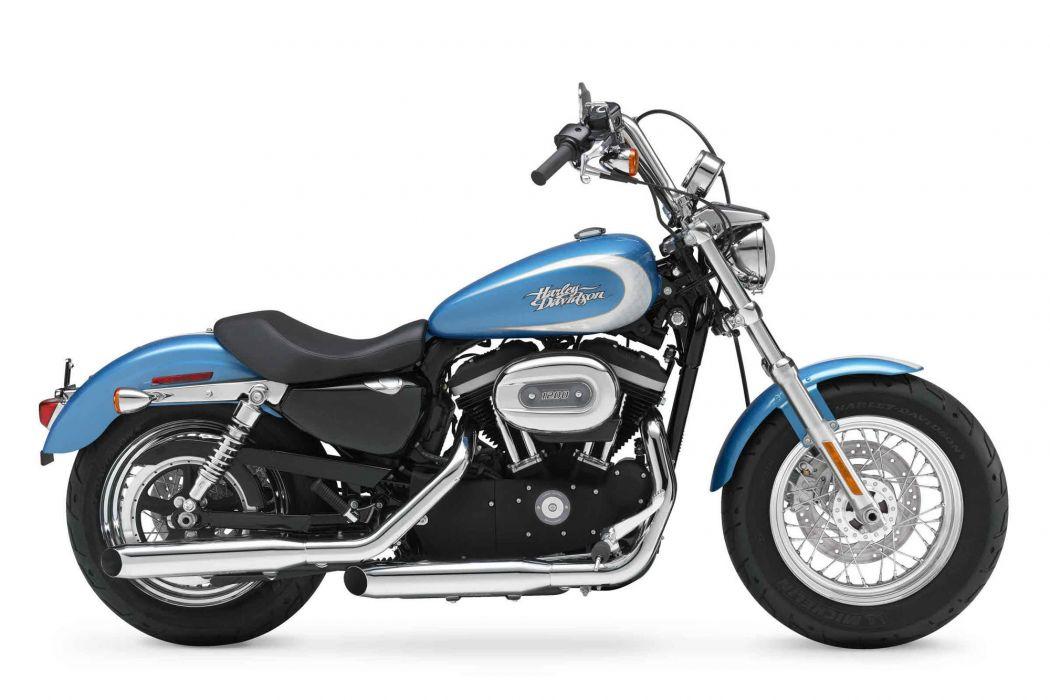 2012 Harley Davidson XL1200C Sportster 1200 Custom   g wallpaper