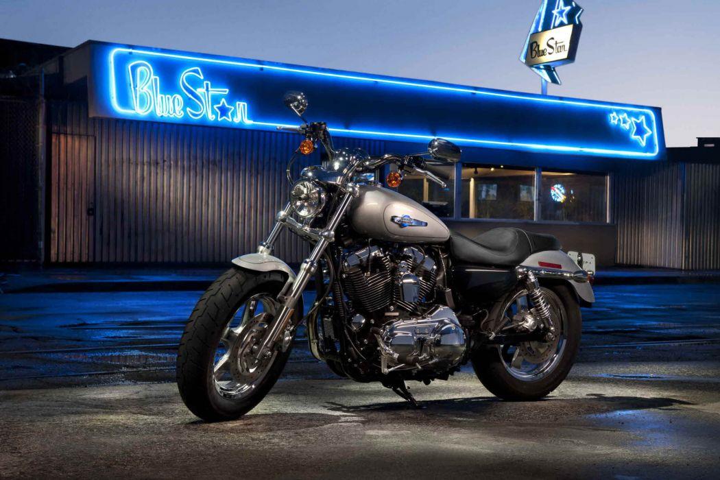 2012 Harley Davidson XL1200C Sportster 1200 Custom wallpaper