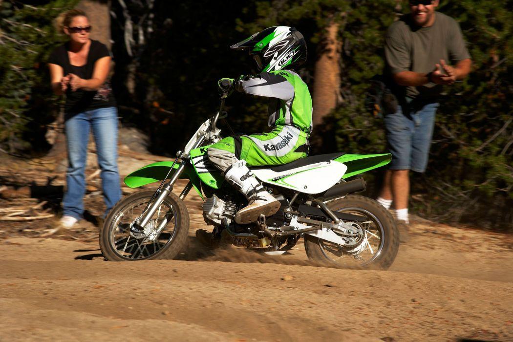 2008 Kawasaki KLX110  f wallpaper