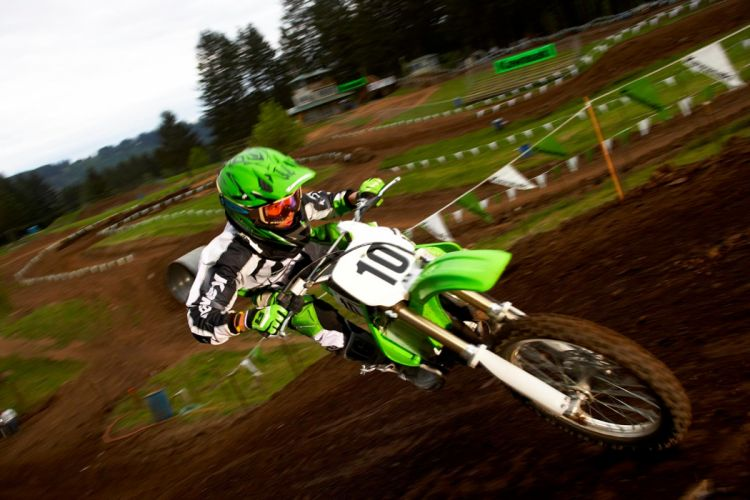 2008 Kawasaki KX100 f wallpaper