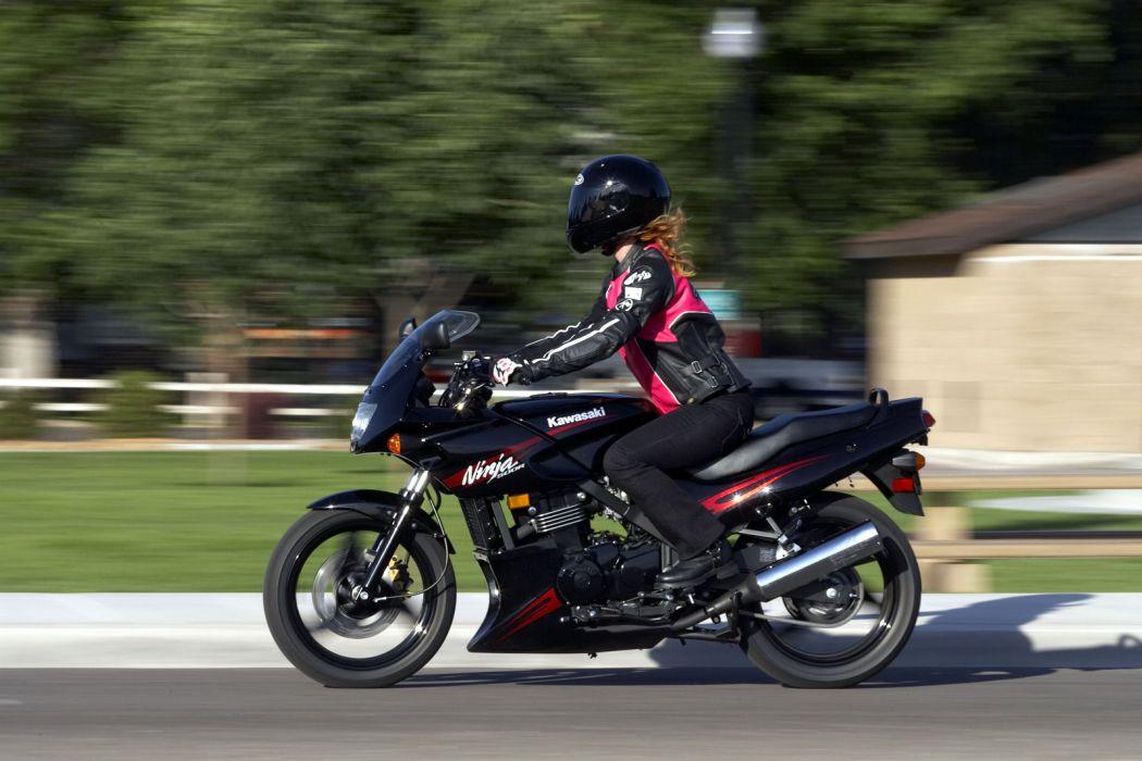 2008 Kawasaki Ninja 500R wallpaper