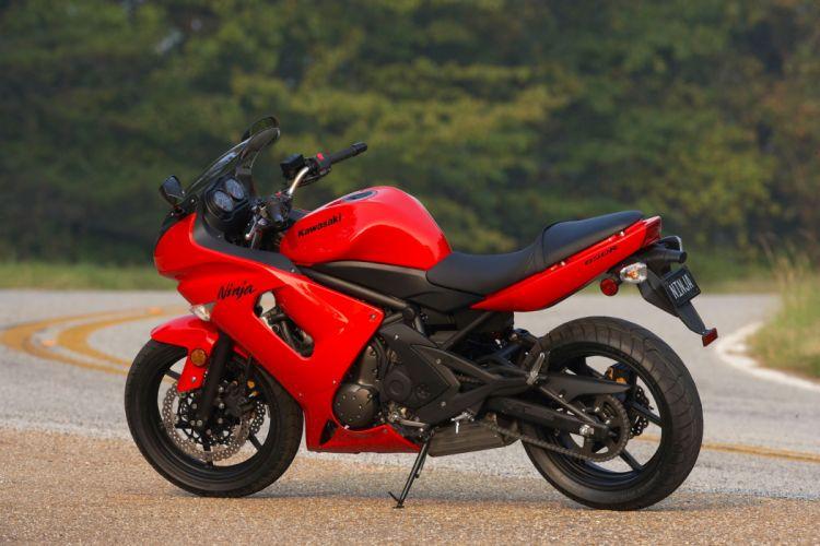 2008 Kawasaki Ninja 650R f wallpaper