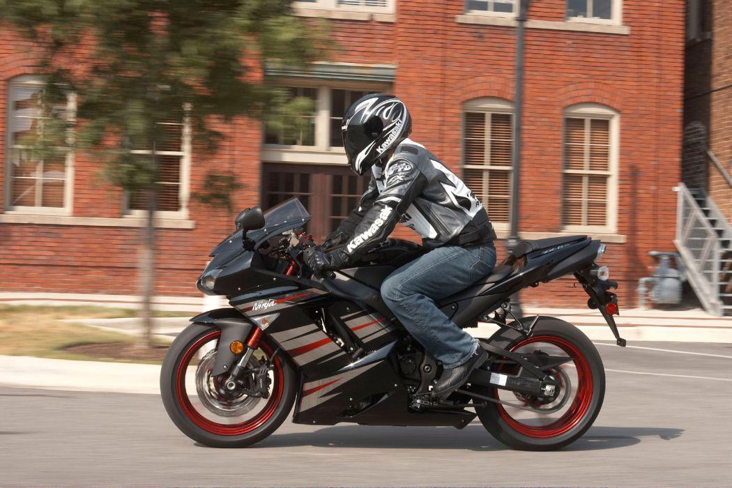 2008 Kawasaki Ninja ZX-6R     f wallpaper