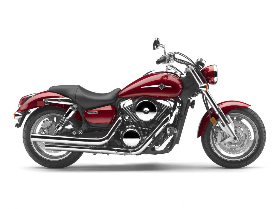 2008 Kawasaki Vulcan 1600 Mean Streak     d wallpaper