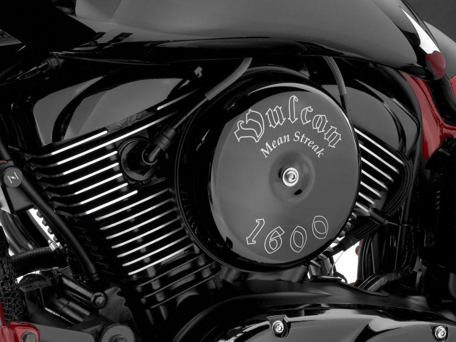 2008 Kawasaki Vulcan 1600 Mean Streak engine engines wallpaper