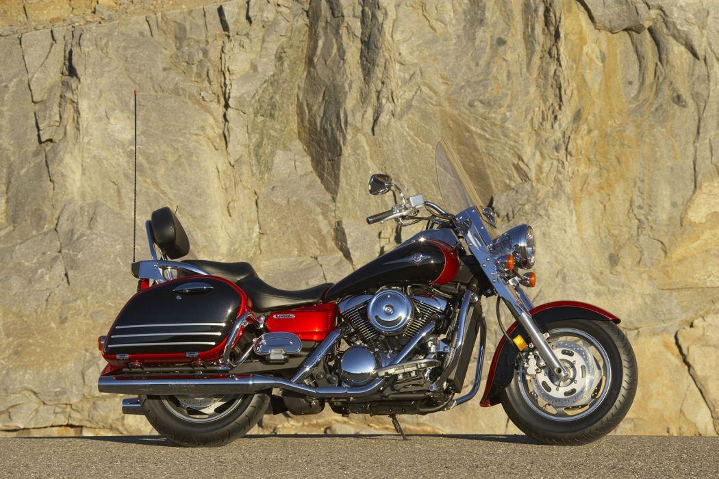 2008 Kawasaki Vulcan 1600 Nomad wallpaper