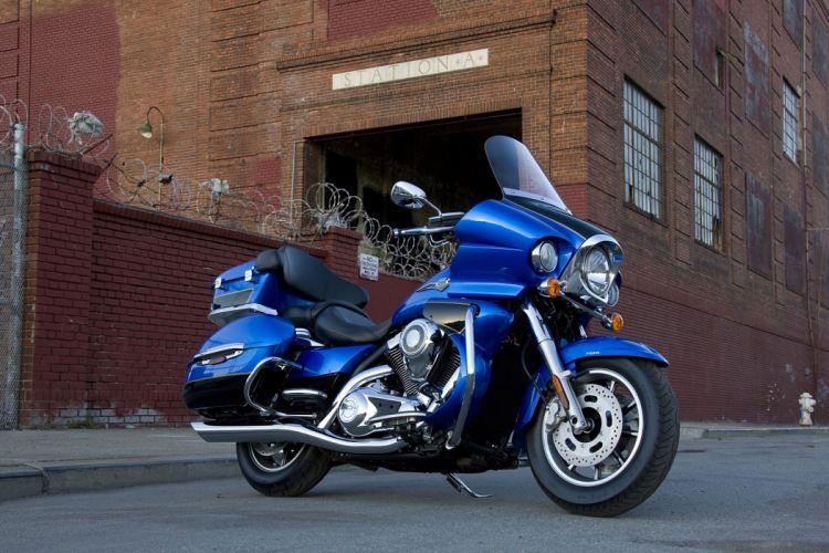 2009 Kawasaki Vulcan 1700 Voyager wallpaper