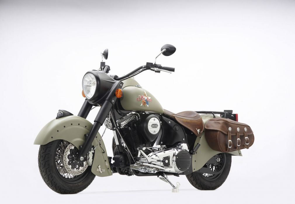 2010 Indian Chief Bomber Limited Edition wallpaper