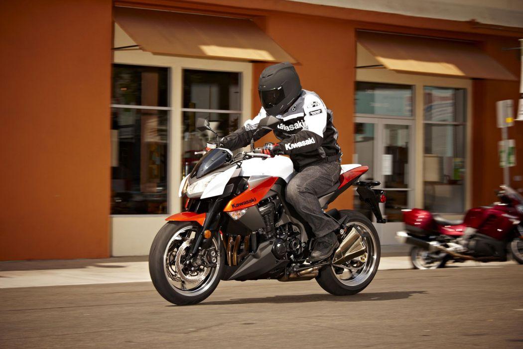 2010 Kawasaki Z1000 wallpaper