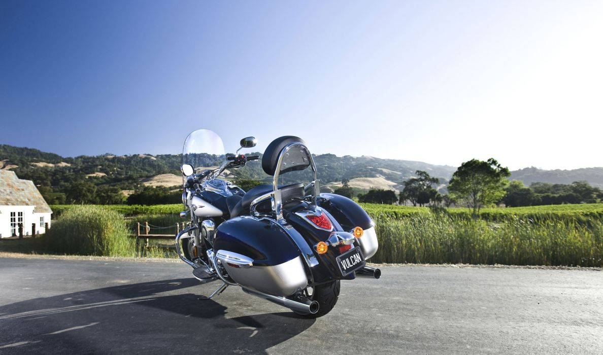 2011 Kawasaki Vulcan 1700 Nomad    g wallpaper
