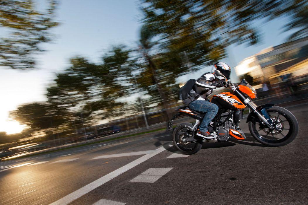2012 KTM 200 Duke  g wallpaper