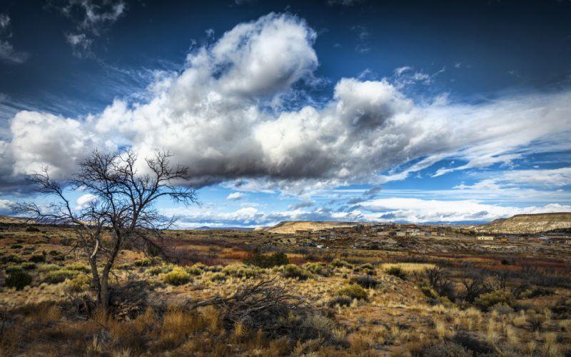 Clouds Landscape sky wallpaper