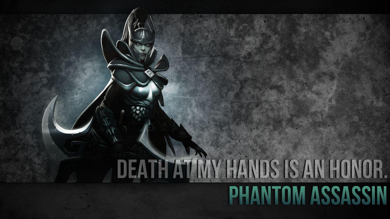 Dota Phantom Assassin wallpaper