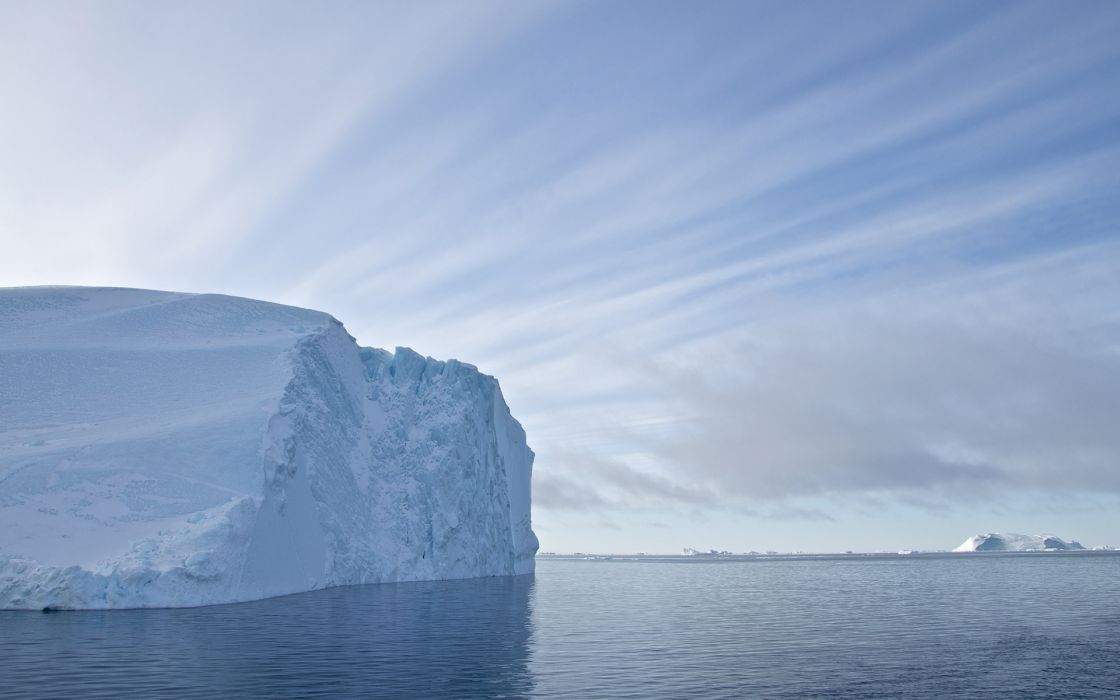iceberg ice ocean sea wallpaper