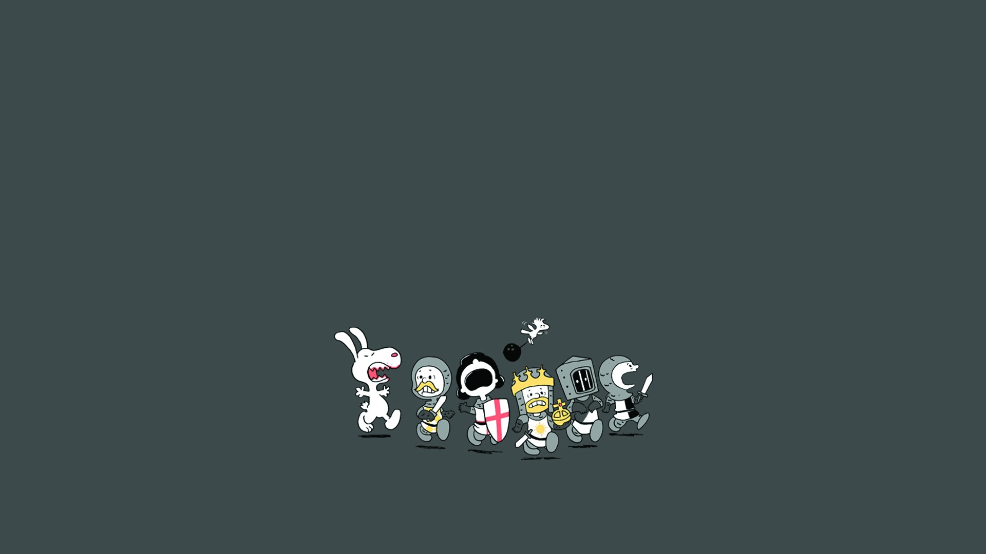 Monty python holy grail peanuts knights humor funny wallpaper monty python holy grail peanuts knights humor funny wallpaper 1920x1080 91374 wallpaperup voltagebd Gallery