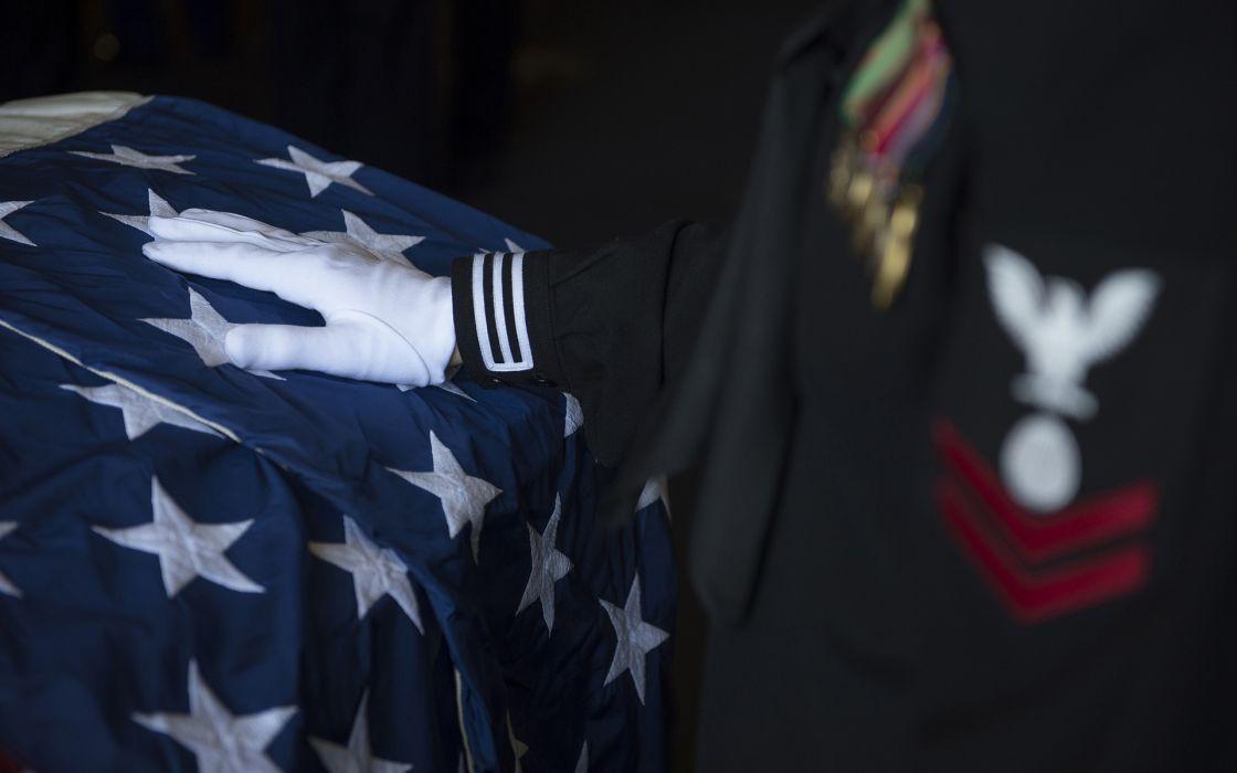 Soldier Funeral hand American Flag military stars mood sad wallpaper