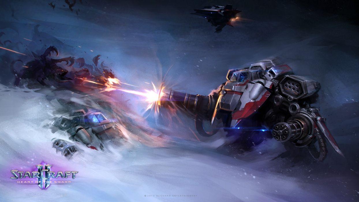 StarCraft Drawing Mech mecha wallpaper