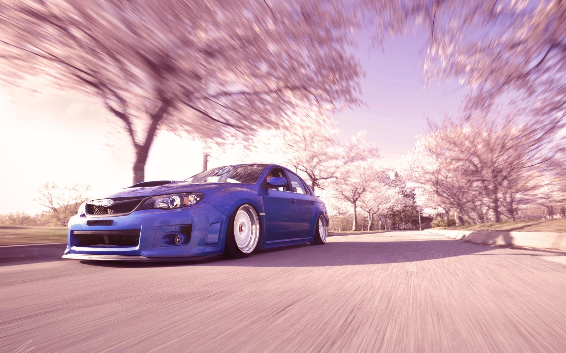 JDM Cars |Pink Subaru Impreza Wrx