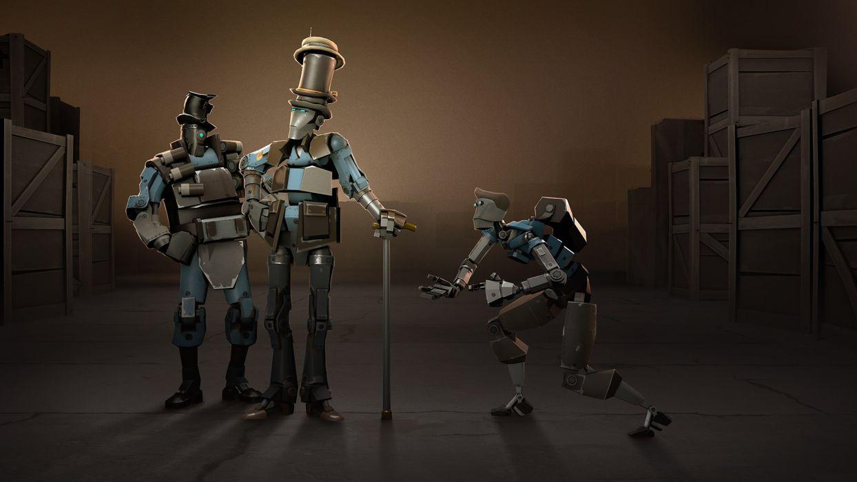 Team Fortress Robots wallpaper