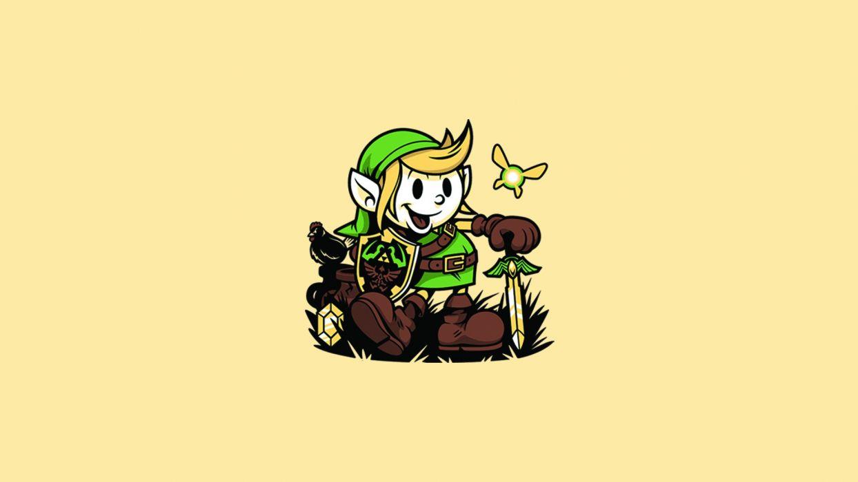 Zelda Link wallpaper