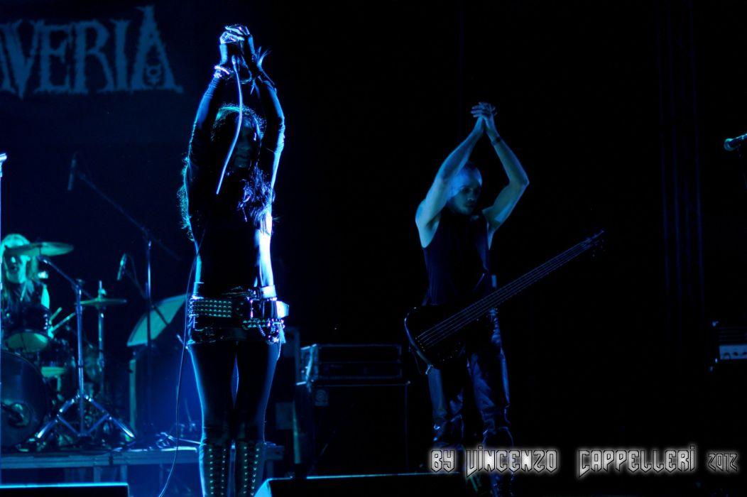 Cadaveria gothic metal heavy concert concerts guitar guitars  v wallpaper
