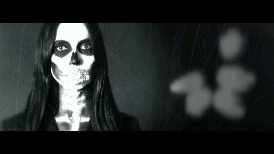 Cadaveria gothic metal heavy dark skull skulls wallpaper