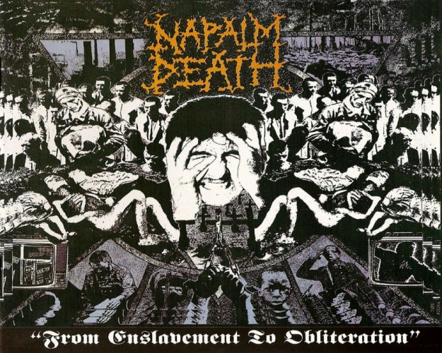 NAPALM DEATH death metal thrash heavy cover e wallpaper
