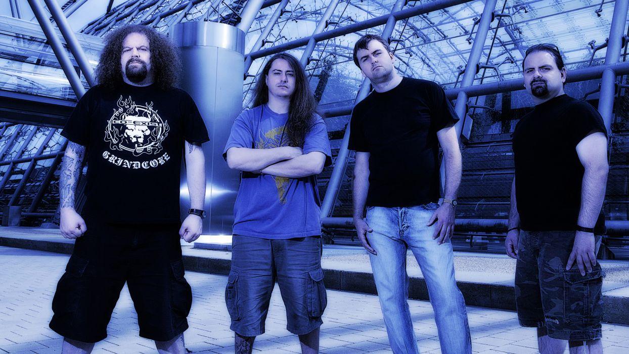 NAPALM DEATH death metal thrash heavy wallpaper