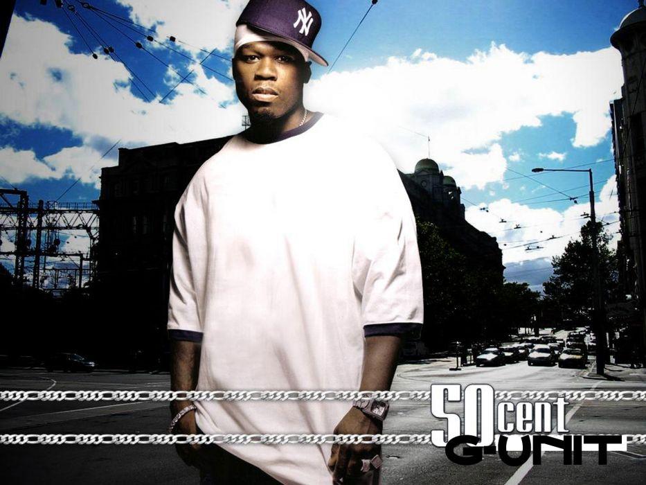 50-CENT Curtis Jackson Hip hop rap cent gangsta       b wallpaper
