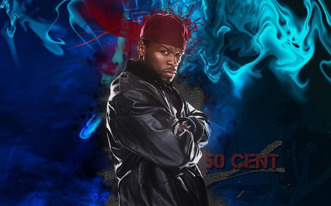 50-CENT Curtis Jackson Hip hop rap cent gangsta      f wallpaper