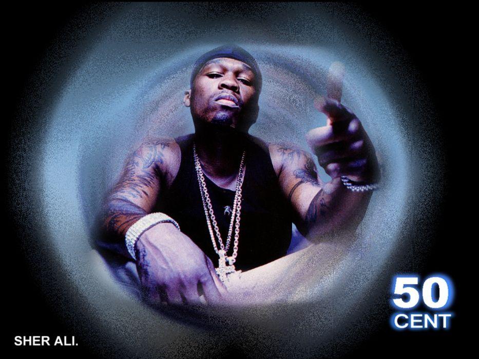 50-CENT Curtis Jackson Hip hop rap cent gangsta   x wallpaper