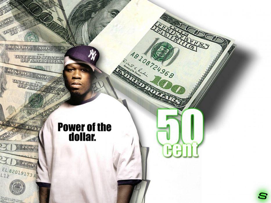 50-CENT Curtis Jackson Hip hop rap cent gangsta   v wallpaper