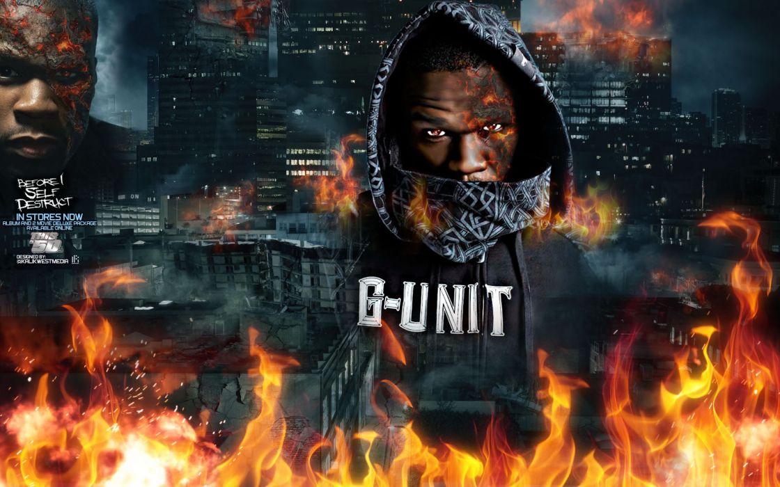 50-CENT Curtis Jackson Hip hop rap cent gangsta poster posters wallpaper