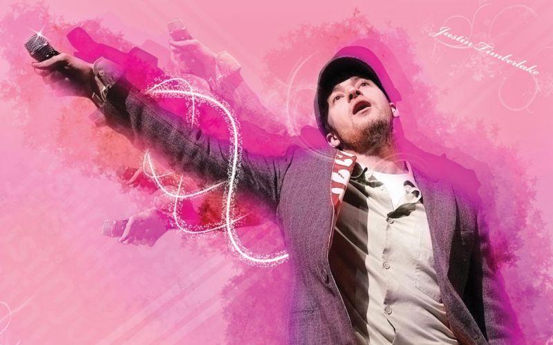 Justin Timberlake pop music actor singer men microphone wallpaper