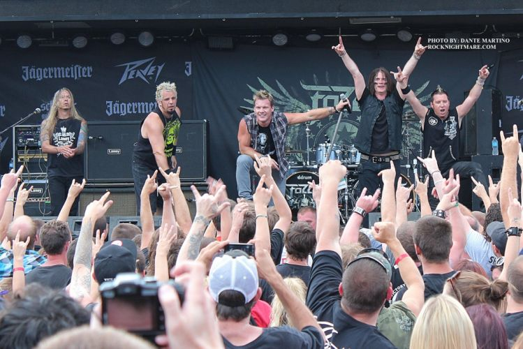 FOZZY chris jericho heavy metal concert concerts microphone wallpaper