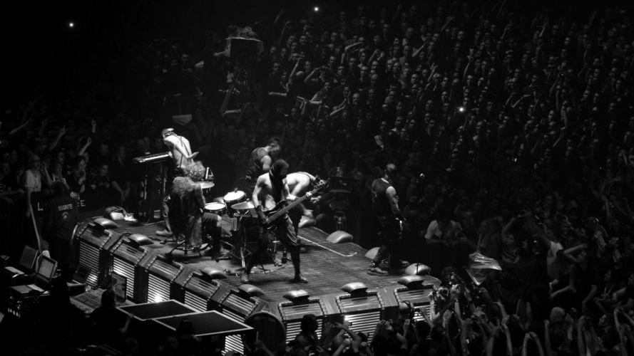 RAMMSTEIN industrial metal heavy concert concerts f wallpaper