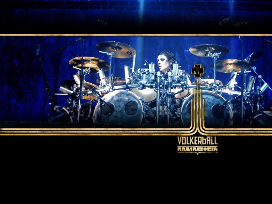 RAMMSTEIN industrial metal heavy concert concerts drums wallpaper